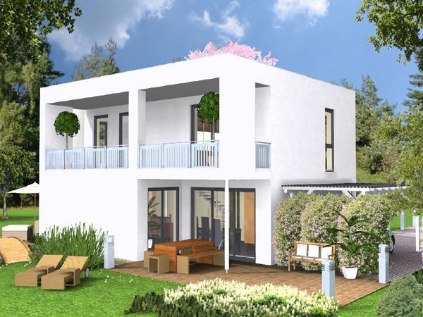 Fertigteilhaus modern  Wunderschöne Traum Fertighäuser - Massivhaus und Fertigteilhaus ...