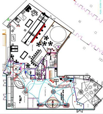 Indoor children playground design and planning in iasi for Playground building plans