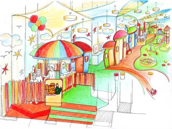 Indoor Kinder Spielplatz Design und Planung in Iasi, Rumänien